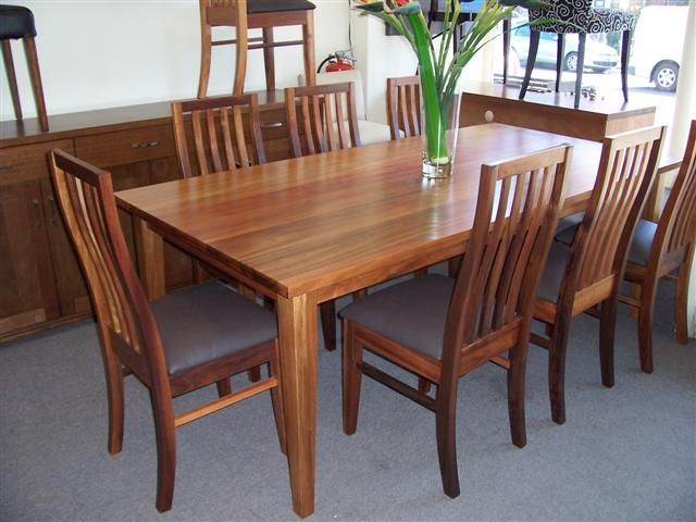 black wood dining room sets. Quality Solid Tasmanian Blackwood Eden Chairs. 1500mm Square Dining Table Black Wood Room Sets