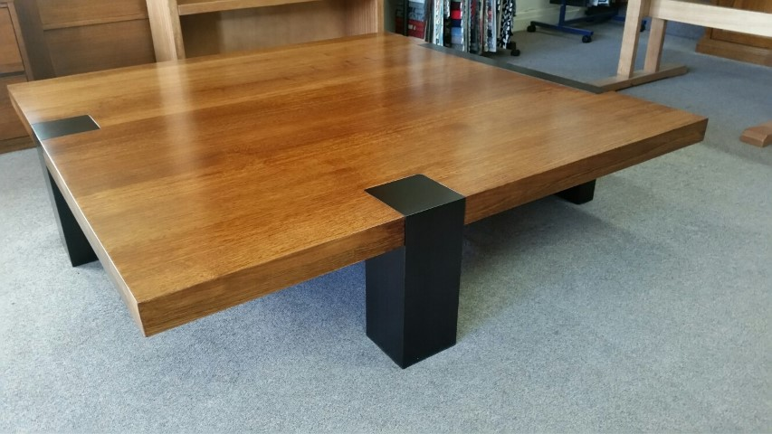 3 Leg Base Coffee Table 1500 X 1500 Choice Of Custom Dimensions And Timbers