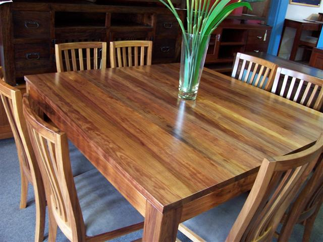 Delightful With Solid Blackwood Timber Chairs. Melbourne Blackwood 1500 Square Dining  Table